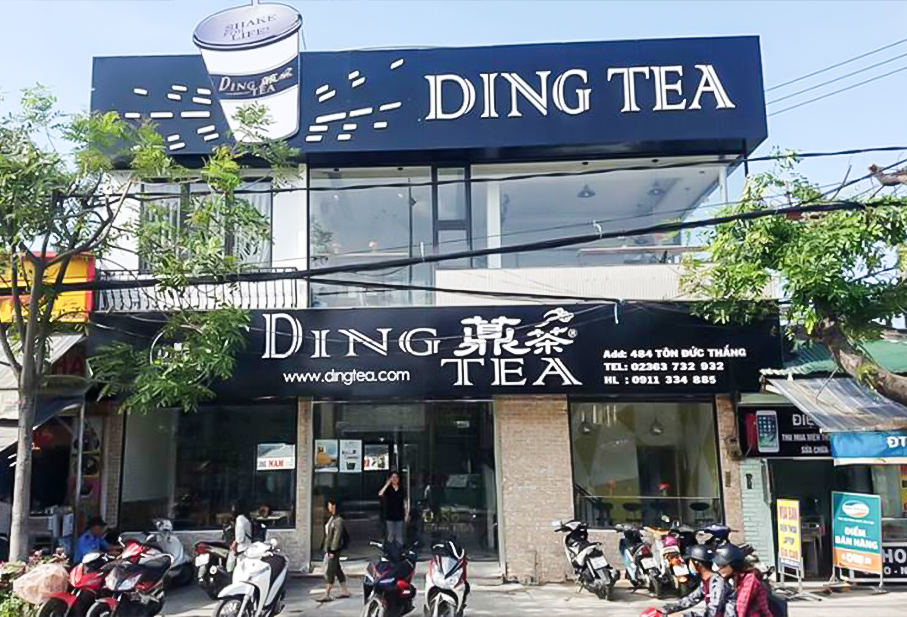quan tra sua Ding Tea