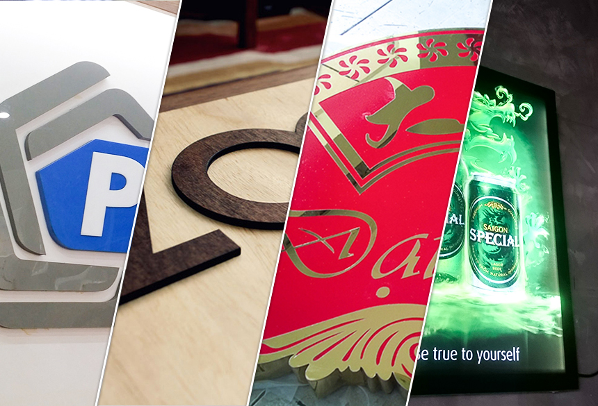 4 mẫu bảng hiệu đẹp NGẤT NGÂY CON GÀ TÂY