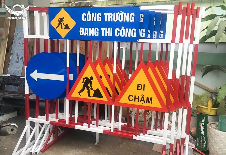 Chuyên làm biển báo công trình xây dựng
